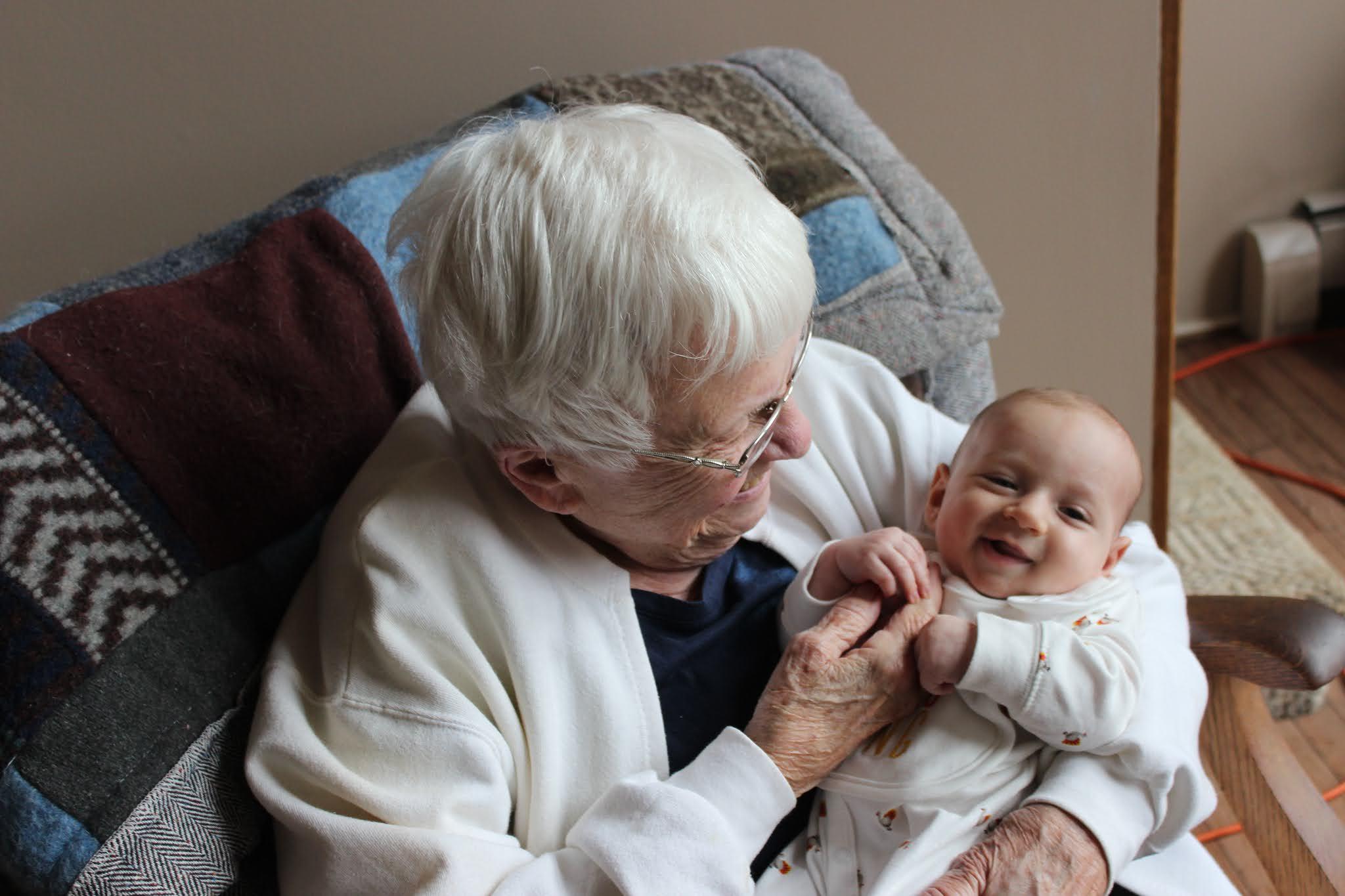 Grandma Rachel and Duke