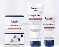 Logo Eucerin Aquaphor trattamento riparatore: diventa una delle 300 tester