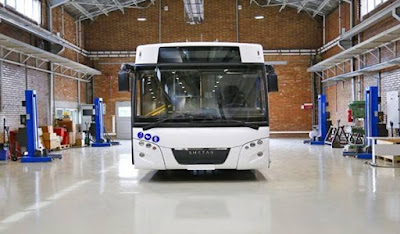 إيران تعلن عن أول حافلة كهربائية محلية الصنع