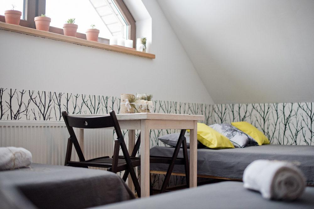 łózka, pokój i noclegi w Beskid Niski