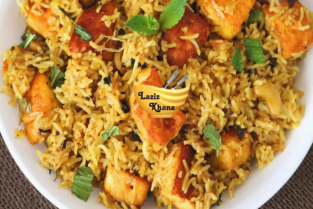 Paneer Biryani Recipe in Hindi