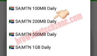 SA|MTN 200MB Daily