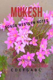 Mukesh Songs Western Notes