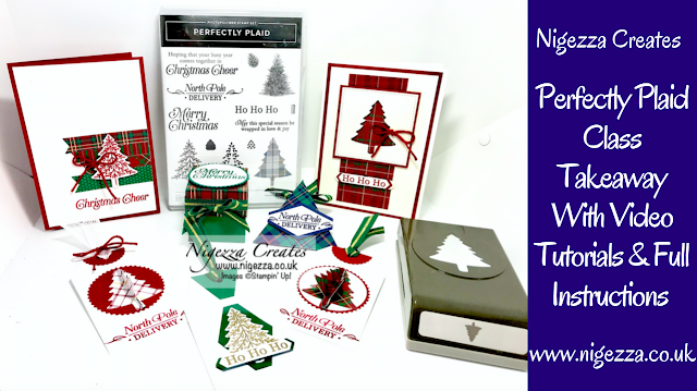 Nigezza Creates with Stampin Up and Wrapped in Plaid