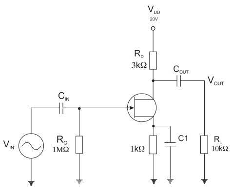 FET Amplifier Configurations ~ AmplifierCircuits.com