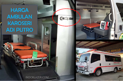 harga Ambulans karoseri buatan Adi Putro