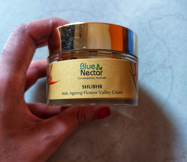 Blue Nector SHUBHR Anti Aging Flower Valley Cream 1.8 oz e 50g Review and Pictures