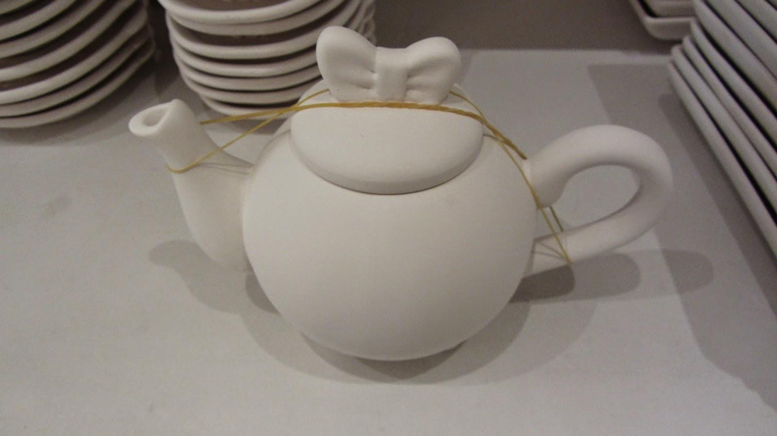 Ceramique A La Carte Cafe Rashid Mall Khobar Saudi teapot blog