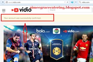 Cara Daftar Vidio.com 2015