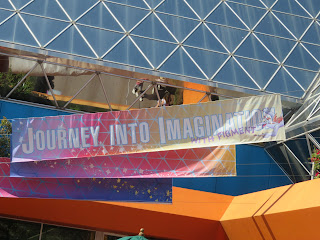 Journey Into Imagination With Figment Banner Epcot