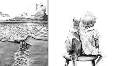 00-Ink-Illustrations-Julia-www-designstack-co