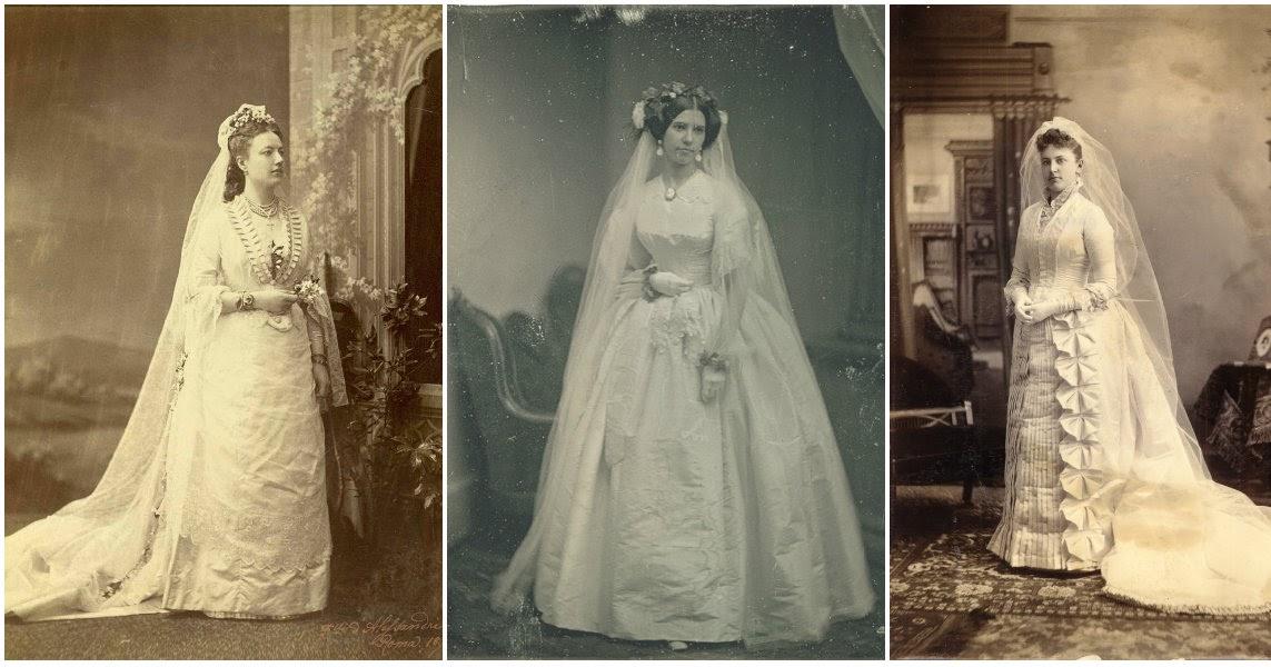 Victorian Wedding Dresses: 27 Stunning Vintage Photos Of