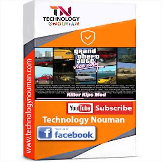 GTA Vice City, GTA Vice City Killer Kip game, GTA Vice City logo,