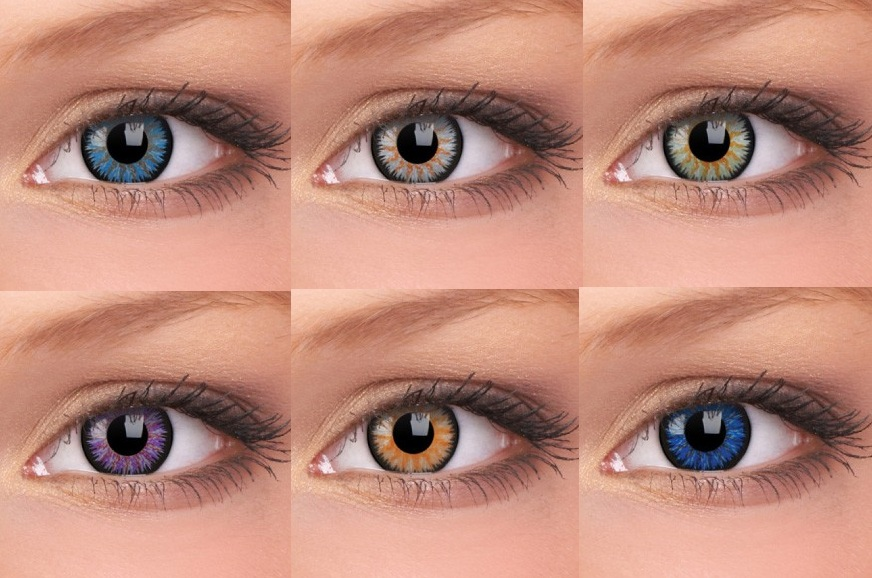 Coloured Contact Lenses March 2013