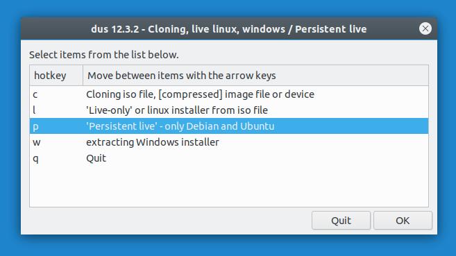 create persistent live usb debian ubuntu
