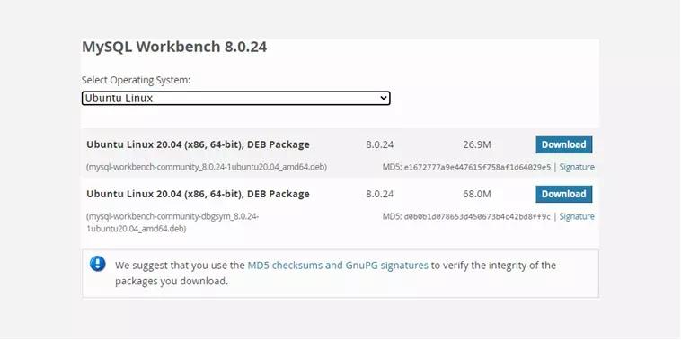 Cara Download dan Instal MySQL Workbench di Ubuntu
