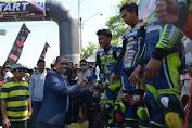 Bupati Wajo Apresiasi Kejurda Balap Motor Road Race Boca Junior Cup 2019
