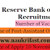 Reserve Bank of India Recruitment 2017– 623 Assistant Officer Posts