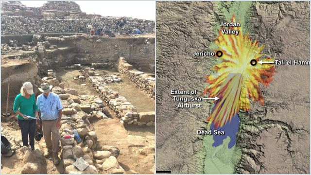 Arkeolog Ungkap Kota Kuno Kaum Sodom Hancur Dihantam Asteroid, Sesuai Kisah Al Quran?