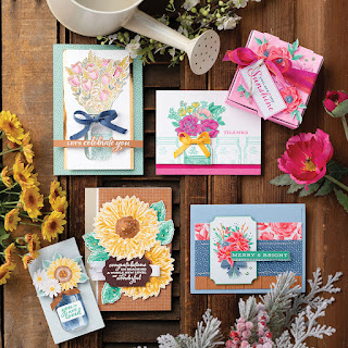 Stampin' Up! Flowers for Every Season Card  #stampinup