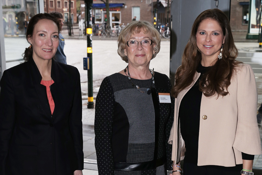 Princess Madeleine of Sweden attended a conference on human trafficking and sexual exploitation in Stockholm