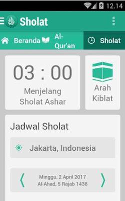 Aplikasi Jadwal Adzan