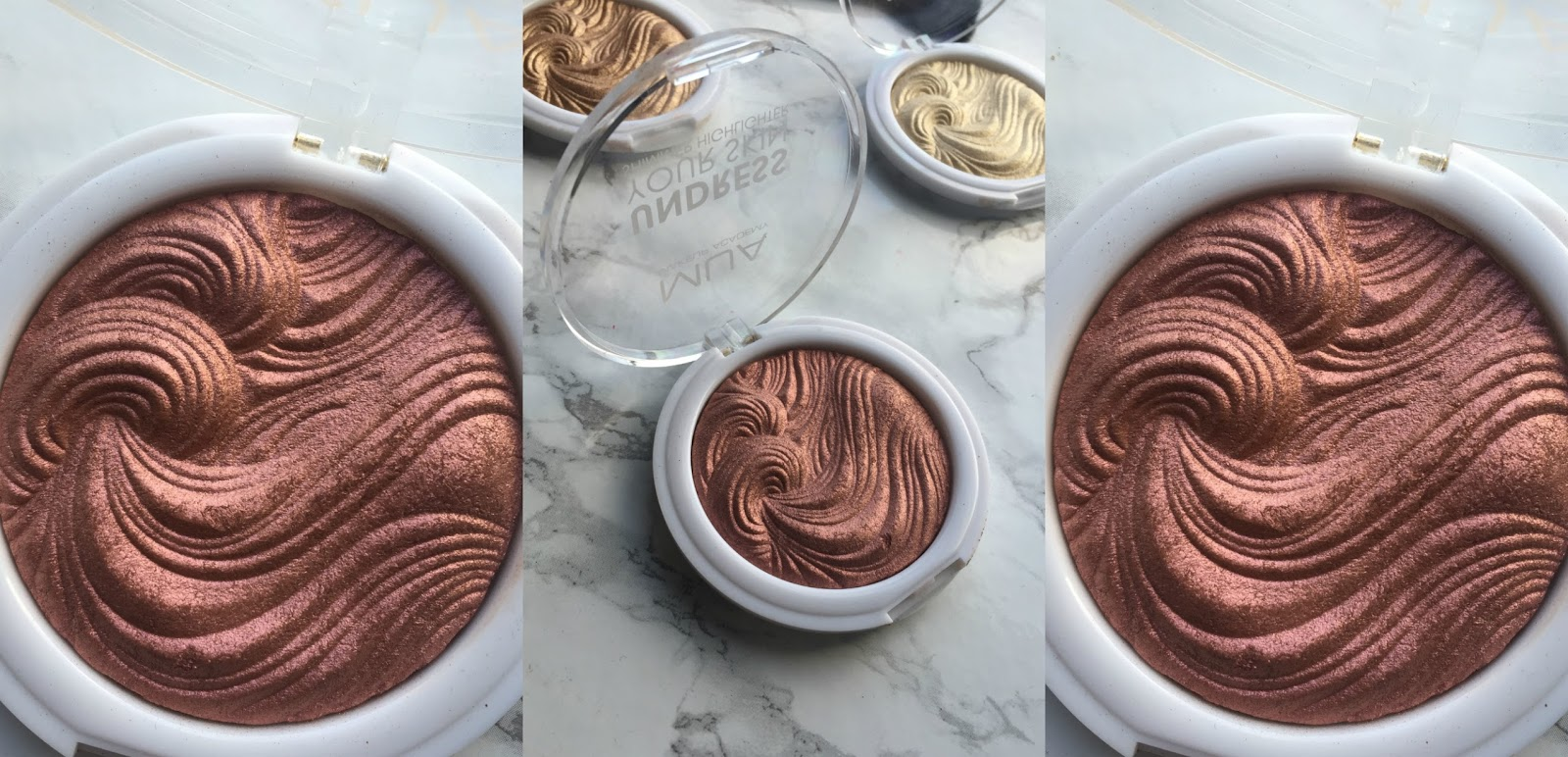 Rosewood Glimmer MUA HIGHLIGHTERS