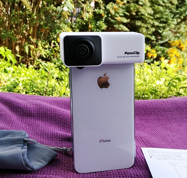 Panoclip Captures 360-Like Experiences