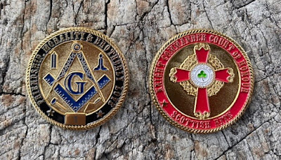 Masonic Scottish Rite Knight Commander Court of Honour Limited Edition Challenge Coin
