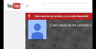 recuperar canal hackeado y borrado de YouTube