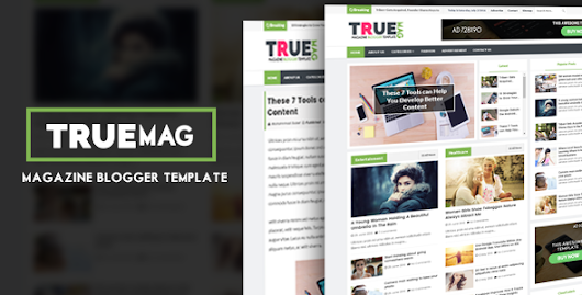 True Mag - Professional Newspaper/Magazine Blogger Template - MS Design