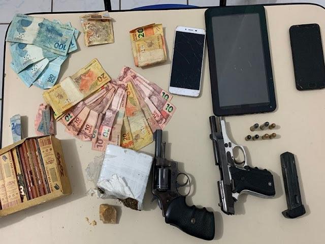 PC-PI realiza apreensões e prende duas pessoas no Sul do Piauí