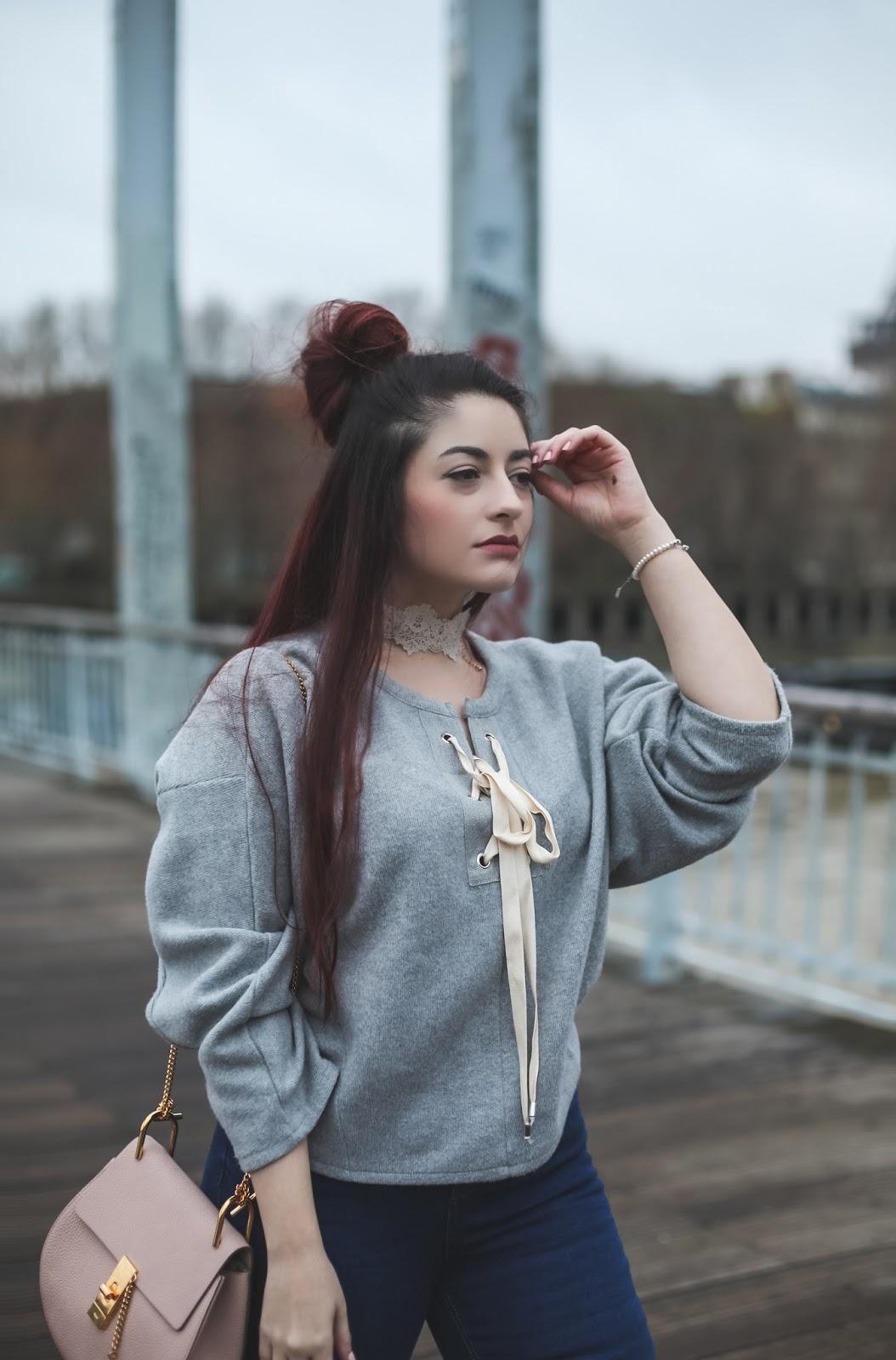 pull à lacets blog mode paris
