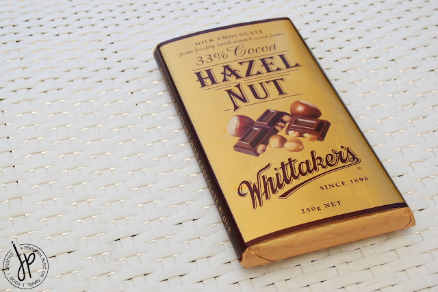chocolate block with hazel nut