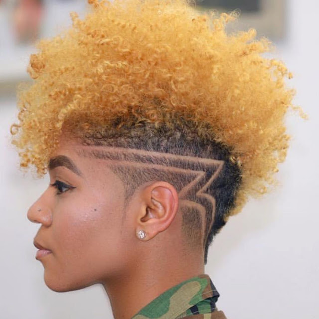 2019 Lovely Natural Hair Styles