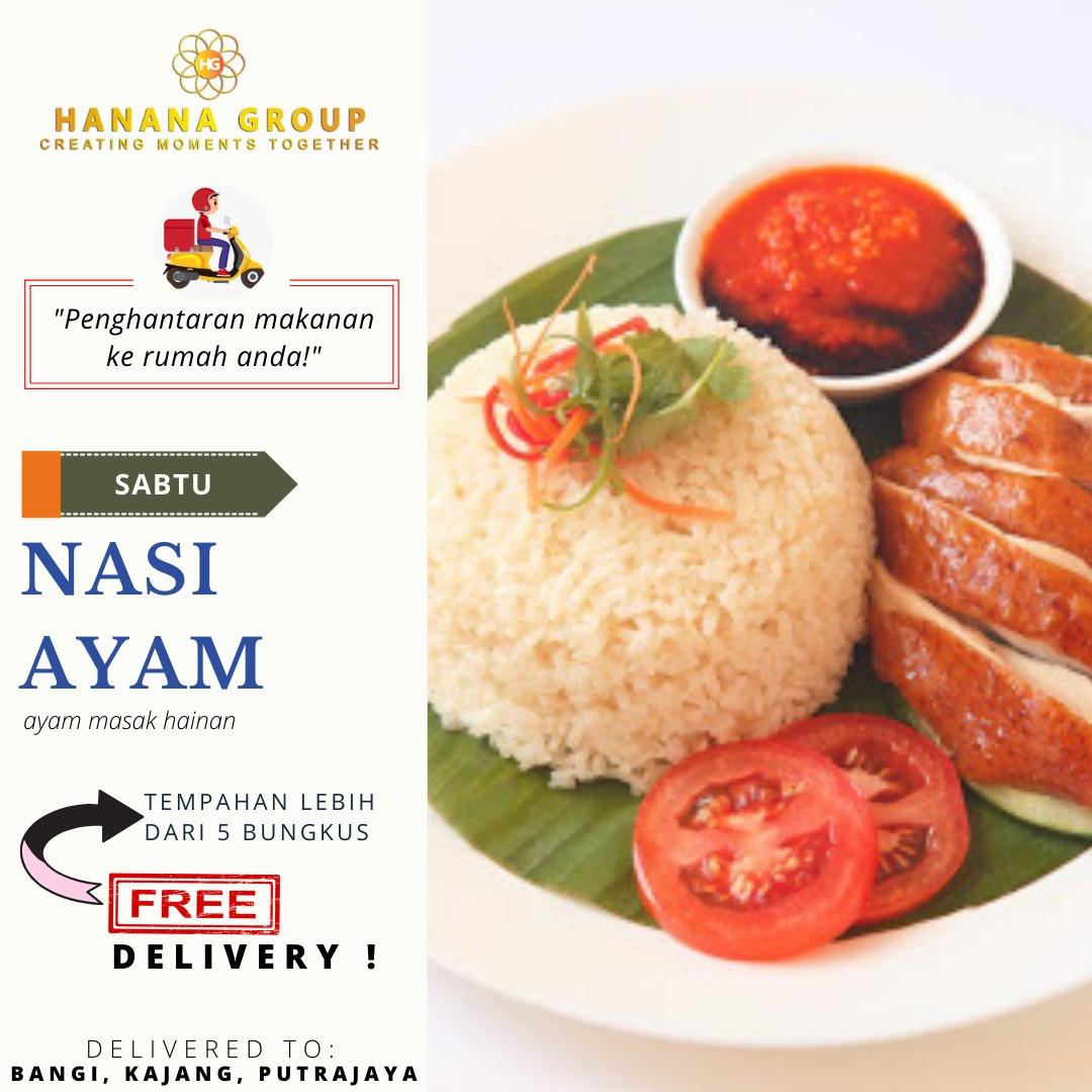 Nak Order Makan Tengah Hari Dekat Mana? Jom Order Dengan Hanana Delivery's [Sekitar Kajang, Bangi, Putrajaya, Cheras, Seri Kembangan dan Puchong]
