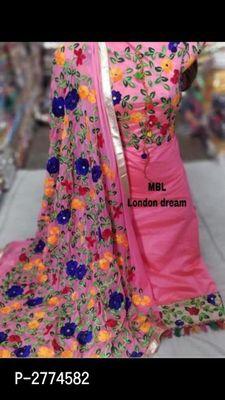 Fashionable Aari Embroidery Work Suit