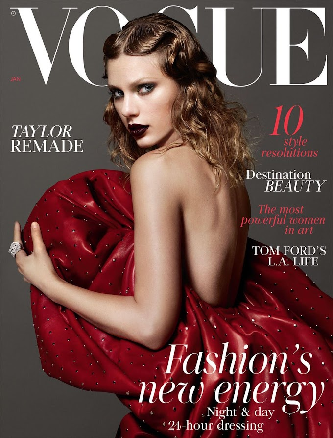 Gorgeous! Taylor Swift Covers British Vogue's January Issue