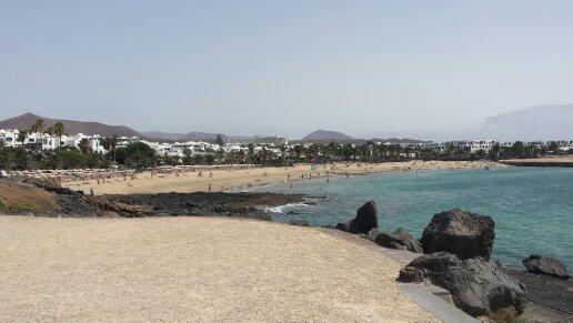 Costa Teguise, Lanzarote, Wyspy Kanaryjskie, wakacje na Kanarach, blog o Hiszpanii