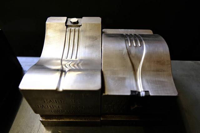 Fork  manufacturing, processing, equipment, block