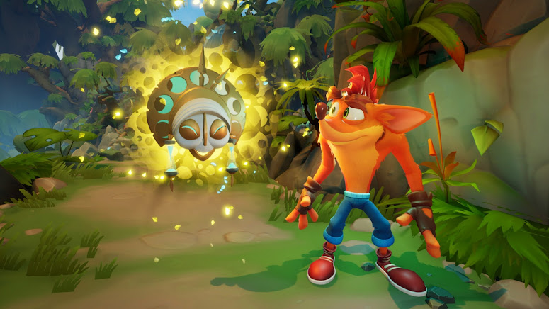 Crash Bandicoot 4 another scene from the video game