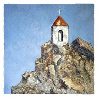 Kunstkaart Bijbelse kaart Bemoediging Baken van Hoop - Atelier for Hope kaarten en schilderijen