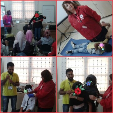 Εκπαίδευση Βασικών Αρχών Πρώτων Βοηθειών στα παιδιά οικογενειών προσφύγων στην Τρίπολη