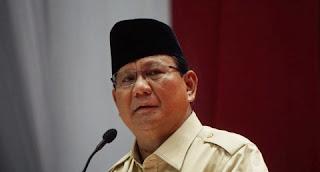 Calon presiden Prabowo Subianto