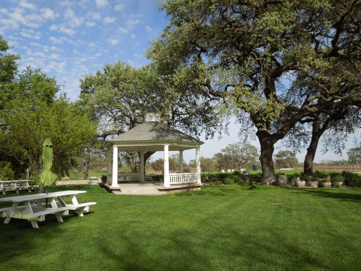 2019 Paso Robles and Templeton Wine Country Calendar: Peachy Canyon Gazebo Photo