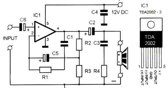 45 watt class b amplifier