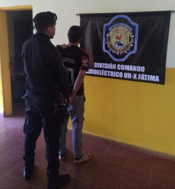 "GARUPÁ : Atraparon a ""Mauri"", sobre quien recaía un pedido de captura por lesionar a un Policía"