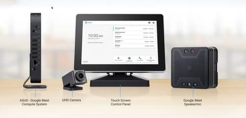 Asus unveils Google Meet conference machines