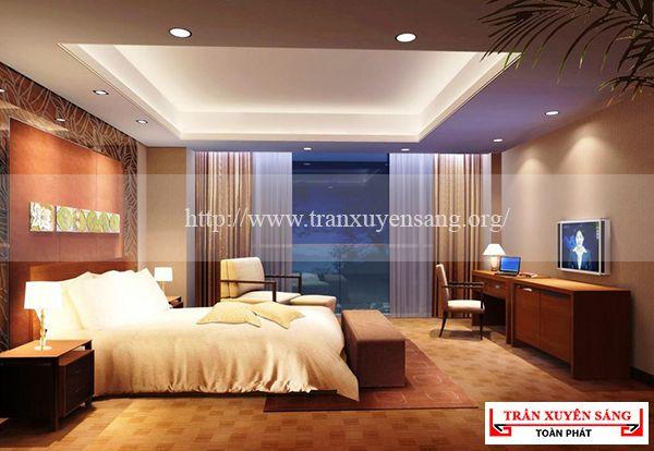 Mẫu trần phòng ngủ lãng mạn 4