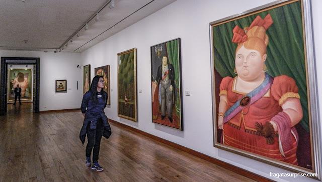 Obras de Fernando Botero, no Museu Botero, Bogotá